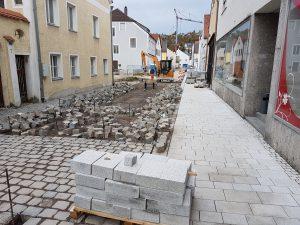 UTE Ingeneiur GmbH - Brunngasse Kehlheim traßen Sanierung abgeschlossen