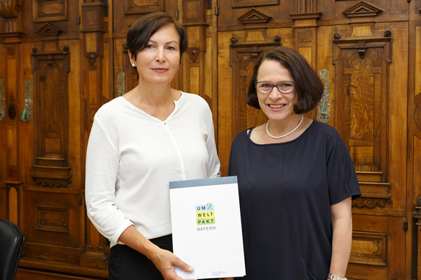 Teilnehmer am Umweltpakt Bayern